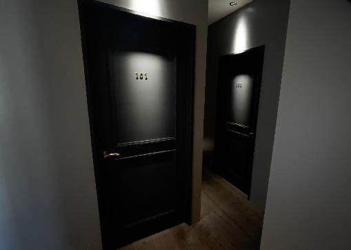 コンセプトの異なる3つの個室